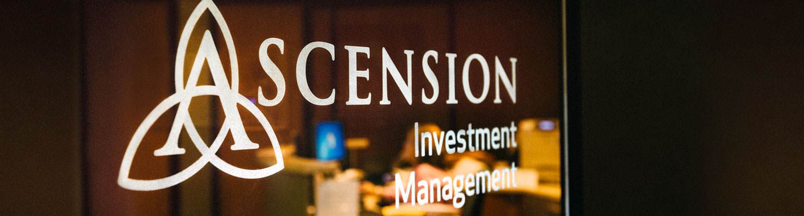 Ascension Investment Management office sign